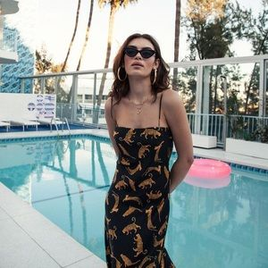 Bec + Bridge Conga Beat Slip Midi Dress